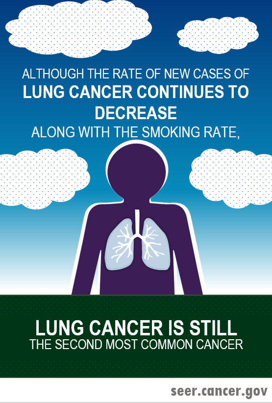 lung cancer is still the second most common cancer